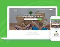 Rainbow Movers : Website Design