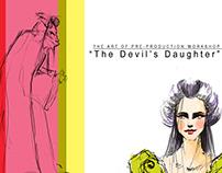 """The Devil's Daughter"" ""رواية ""بنت الشيطان"