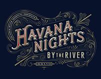 Havana Nights Lettering