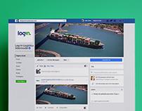 Redes Sociais Log-In Logística