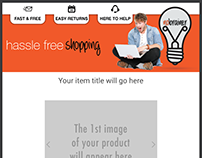 HassleFree - Gadgets - ebay template for CrazyLister