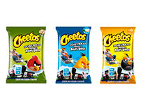Cheetos & Angry birds pack