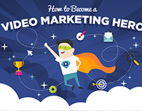 Identity and Infographic: The Video Marketing Hero