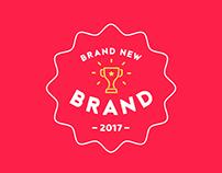 Brand New Brand 2017 Branding