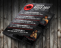 Brochure & Banner Design for Boxing Anual Exhibition
