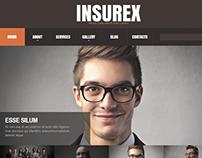 Insurance Company Joomla Template