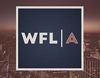 Logotipo e identidade WFL Consultoria