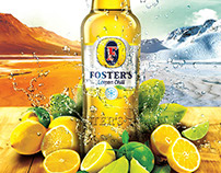 FOSTER'S LEMON CHILL LAUNCH AD