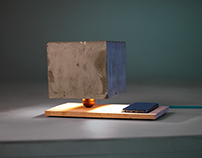 KONKRET - nordic table lamp