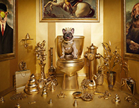 Golden Dog by Sagmeister & Walsh