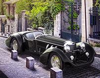 Mercedes SS CGI Render 3D