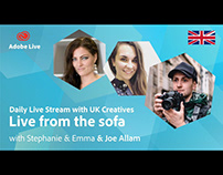 Adobe Live from the sofa UK with Joe Allam