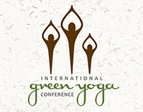 Green Yoga Association Conceptual Rebranding