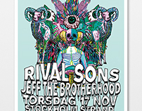 Poster for Rival Sons