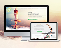 Landing Page - One by One