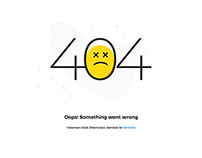 Error Page Notification 404