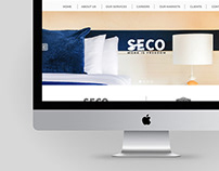 Seco group • Web Design