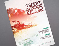 Beach Vibes Flyer