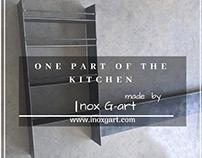 Kitchen element , manufactured by Inox G-art / Metal