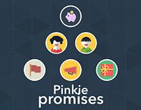 Pinkie Promises Mobile App - DBS Hackathon 2015