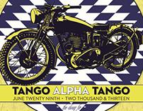 Tango Alpha Tango - Black Cloud Tour Poster