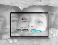 Diseño web - Fundación Ricart