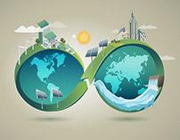 Irena Corporate illustrations