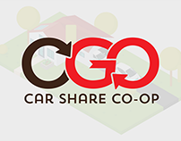 Fleet in a Garage - Motion Graphics - OGO Carshare