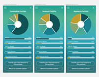 Investment App Wireframe