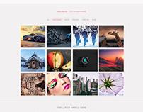 Web Template Design