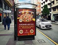 Pizza Restaurant Poster Template Vol.2