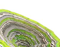 Geode saucer chair