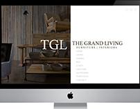 The Grand Living Web Design