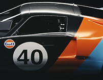 1966 Le Mans Ford GT40