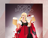 Event flyer - Digipro Days 2016