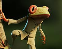Shaolin Frog