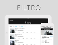 Filtro App (the extention of Showcase App)