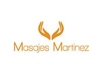 Masajes Martinez Spa Logo Design