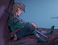 Illustration - Taking a rest