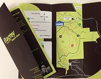 Duluth Trail System : Brochure, app and Signage Design