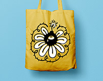 Canvas Tote Bag/Kanvas Çanta İllüstrasyonu