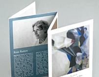 Leaflet + Invitation [FEJR / Rosa Ramos]
