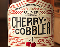 Cherry Cobbler (Oliver Winery) Packaging & Logo Design