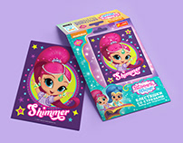 Shimmer and Shine: Shiny pictures with rhinestones