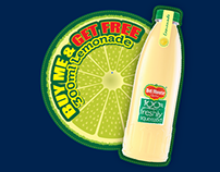 Del Monte Lemonade Offer Promo Sticker