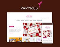 Papyrus Responsive Designs