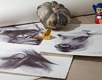 Ballpoint pen drawings 03