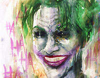 THE JOKER by Javier G. Pacheco
