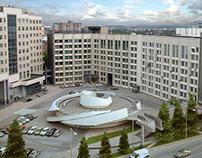 2008   Подземная стоянка бизнес-центра «Европа»
