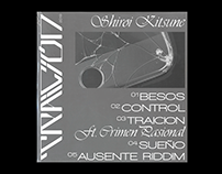 TRAICIÓN - Shiroi Kitsune (EP artwork & custom type)